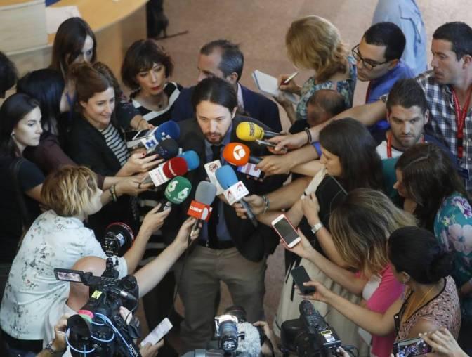 """Pablo Iglesias: """"El 1 de octubre es una manifestación política legítima"""""""